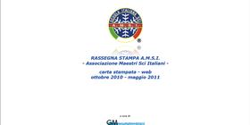 RASSEGNA STAMPA A.M.S.I. CARTA STAMPATA & WEB Ottobre 2010 - novembre 2011